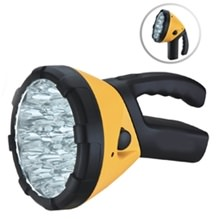 LINTERNA RECARGABLE MANGO REGULABLE C/19 LEDS