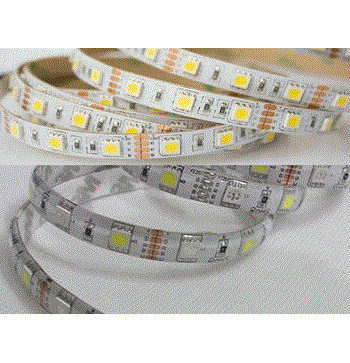 TIPO 60 PCS SMD 5050 COLOR BLANCO CALIDO INTERIOR